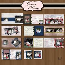 Wedding Guest Signing Book Album Template For Photographers 12x12 Or