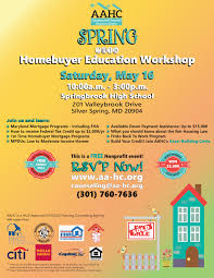Spring Event Flyer 2015 Spring Homebuyer Education Workshop_md Event Flyer Asian