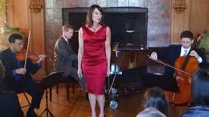 Kari Kirk sings with the Saint Michael Trio - YouTube