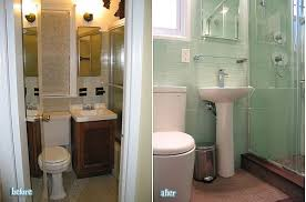 before and after bathroom remodels.  Before Image Via Wwwhouzzcom And Before After Bathroom Remodels O