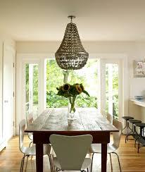 Farmhouse Dining table Cottage dining room Bella Mancini Design