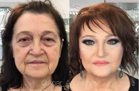 the russian makeup artist who did this woman s makeup is hardly 24 years old she before and after