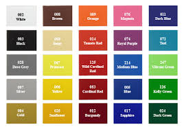 Fdc Color Chart Intermediate Sign Vinyl Decal Film Bdf Graphics Sign