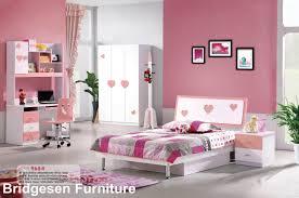 mdf teenage girl kids bedroom furniture set with 2 door wardrobe nightstand bookcase bed pink child furniture mdf funiture kids furniture with
