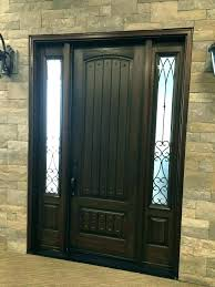 entry door glass inserts entry door with single sidelight medium size of steel one home depot