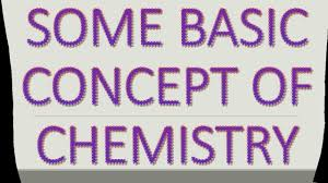Basic Concep Some Basic Concept Of Chemistry