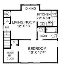 Guest apartment above garage floor plan. Hmmm...I wonder how hard this