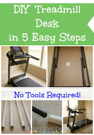 diy treadmill desk in 5 easy steps no tools required 2