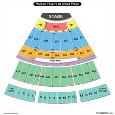 Verizon Theater Seating Chart Seating Chart