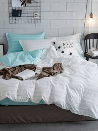 grey and white striped duvet cover black and white striped duvet white bedding silk duvet navy