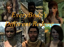 Skyrim Hair Style Mod ebd everybodys different redone at skyrim nexus mods and munity 1781 by wearticles.com