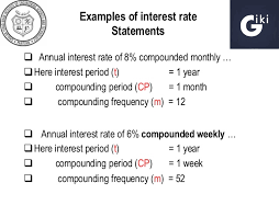 Chapter 4 Nominal Effective Interest Rates Students