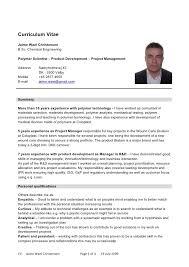 resume plural curriculum vitae in plural example of resume jobstreet