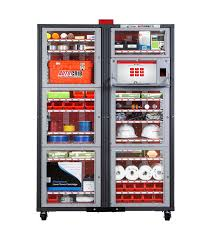 Canadian Vending Machines In Europe Impressive AutoCab Rapid Dispensing Machine For Tools Supply Items