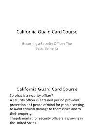 brian ghilliotti ct guard card doentation