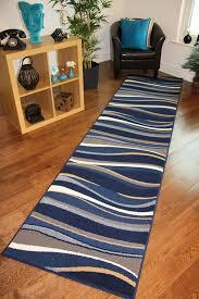 captivating wide runner rug blue rug runners for hallways roselawnlutheran