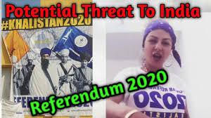 Referendum 2020 /Khalistan /Sikh for justice/ punjab vibhajan/
