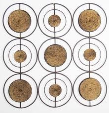 large round metal wall art designs