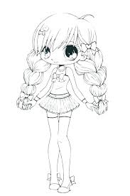 Cute Anime Coloring Pages To Print At Getcoloringscom Free