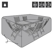 black garden furniture covers. Large 6 Seater Waterproof Garden Furniture Cover - Black Covers