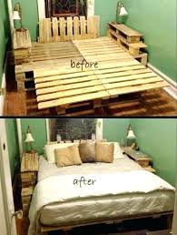 diy bed frame ideas bed frame with pallets lovely bed frame made pallets best pallet bed