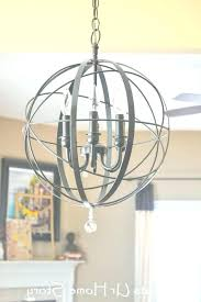 vineyard orb 4 light chandelier vineyard orb 4 light chandelier antique copper flush mount chandelier with