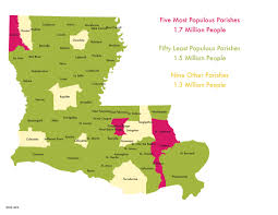 Urban Suburban Rural Power Map 8 Urban Suburban And Rural Louisiana One Voice Louisiana