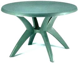 round resin patio tables plastic table fresh top replacement