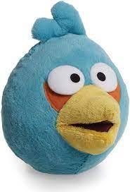 Angry Birds Plüsch Figur Jim Blue Bird 20 cm: Amazon.de: Spielzeug