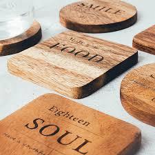 <b>1Pc</b> Mug <b>Coaster</b> Round Square <b>Wood</b> Cup <b>Coaster</b> Table <b>Mat</b> ...