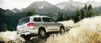 The 8-Seater 2017 Toyota Sequoia Provides V8 Power as Standard