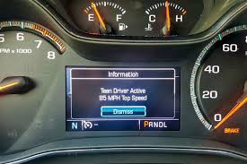 Chevrolet Teen Driver and Safe Driver Technology Hands On Review ...