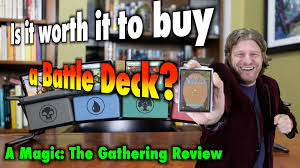 mtg is it worth it to a battle deck for magic the gathering from card kingdom you