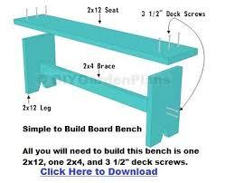 easy diy bench plans. easy diy bench plans a