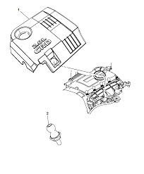 2009 dodge caliber engine cover related parts thumbnail 3