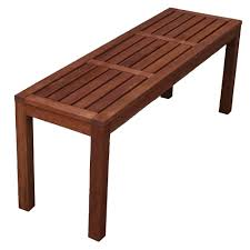 sku thev1074 backless outdoor wooden bench is also sometimes listed under the following manufacturer numbers opb 072b