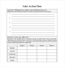 Sample Sales Plan 9 Example Format