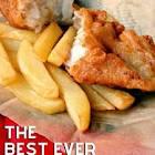 british beer battered fish n chips
