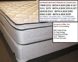 mattresses for sale. Contemporary Mattresses Georgetown Mattress Intended Mattresses For Sale