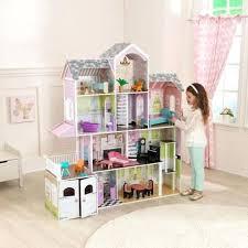 wooden barbie dollhouse furniture. Wood Barbie Doll House Grand Estate Wooden Girls Dolls Furniture Fits Dollhouse N
