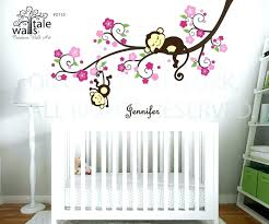 wall decal nursery baby girl decals room for girls ideas large tree stickers art nu image 0 tree wall art for nursery baby room cherry blossoms decal