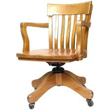 wooden swivel desk chair. Wooden Desk Chair With Wheels Swivel Antique Office Pertaining To Awesome House Wood .