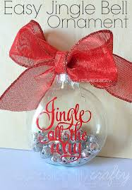Make Handmade Ornaments for Christmas Gifts with this easy tutorial for a  Jingle All the Way