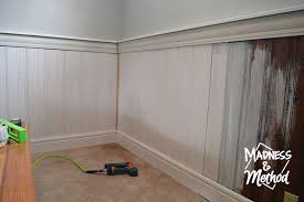 install tongue groove panelling