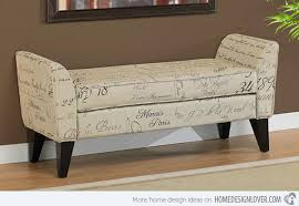15 Storage Bench Designs For The Bedroom Home Design Lover Small  Upholstered Bench