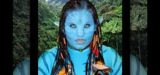 how to create an avatar neytiri na vi makeup look for