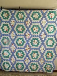 591 best Antique Vintage Quilts For Sale On Ebay images on ... & Antique-Vintage-Handmade-Quilt-Grandmas-Flower-Garden-Quilt Adamdwight.com