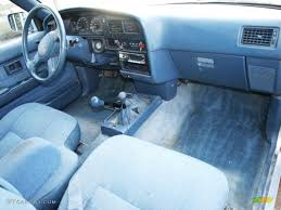 1989 Toyota Pickup Deluxe Extended Cab 4x4 Interior Color Photos ...