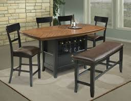 Dining Table With Storage Counter Height Dining Room Sets With Storage Duggspace