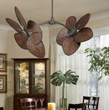 cool ceiling fans ideas. Caruso-Antique-Brass-Dual-Ceiling-Fan Cool Ceiling Fans Ideas